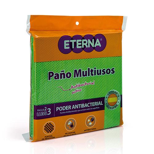 PAÑO MULTIUSOS ANTIBACTERIAL ACTIVO