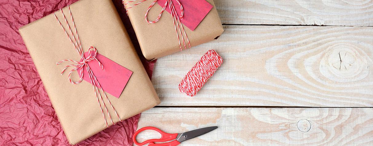 No compres papel de regalo